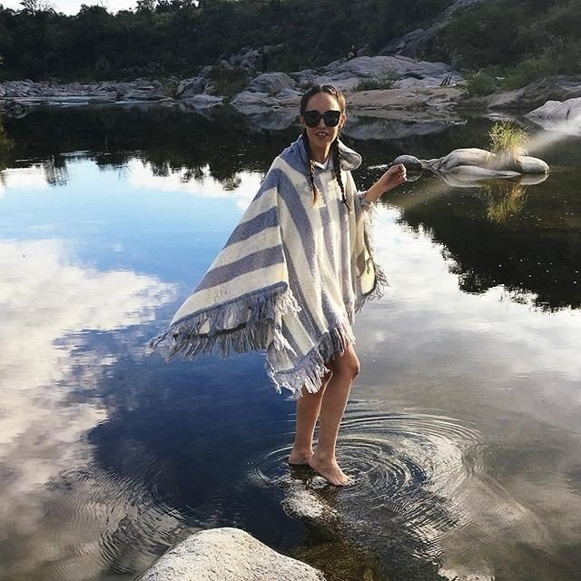Poncho Mohair - comprar online