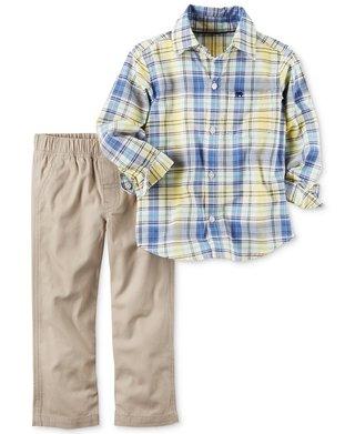 Conjunto com camisa Carter's