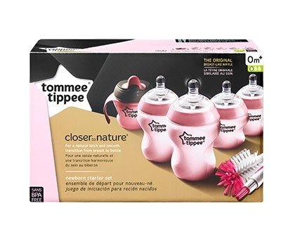 Kit Mamadeiras Rosa Tommee Tippee  - comprar online