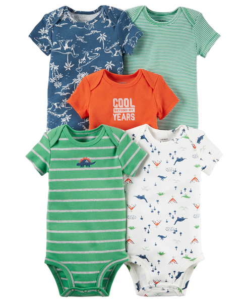 kit de body carters menino