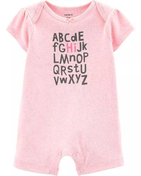 romper macacao curto carters bebe