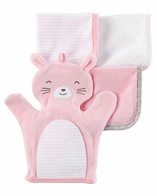 Kit Washcloths Carters Rabbit na internet
