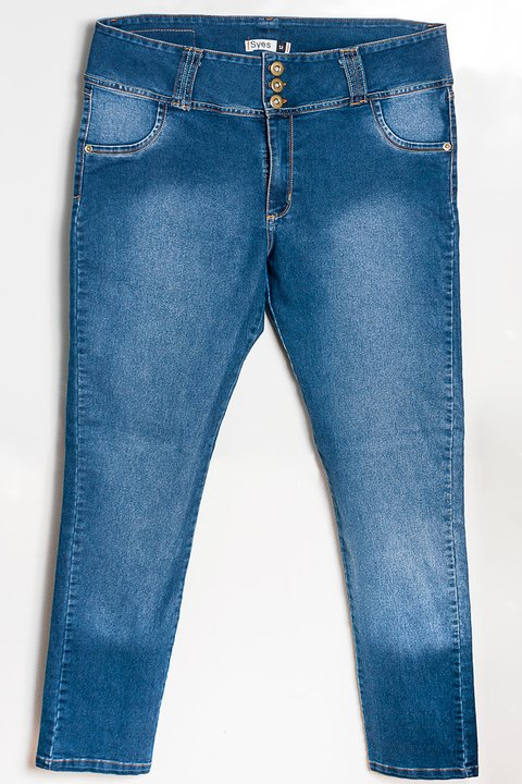 J001 Azul, Jean, Syes talles grandes