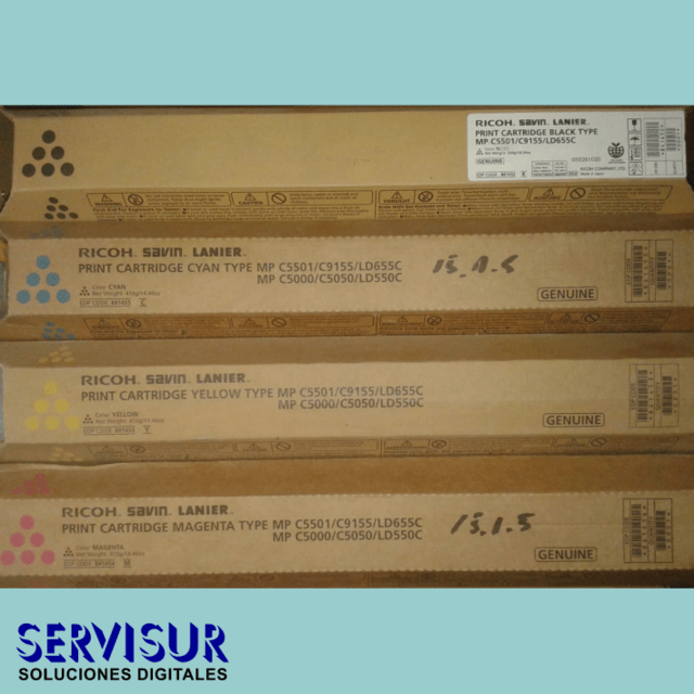Kit Toner Ricoh Original MP C5501