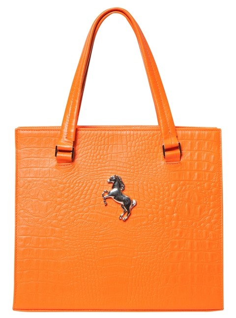 MEDIUM CAROL CROCO NARANJA