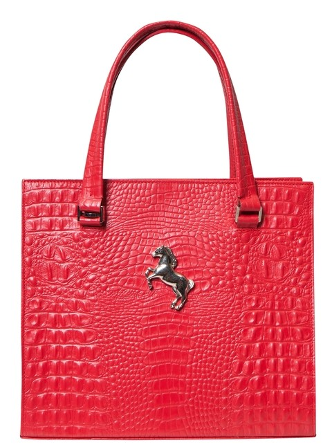 MEDIUM CAROL CROCO ROJO