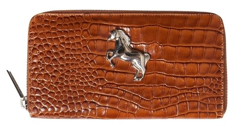 BILLETERA HORSE CROCO