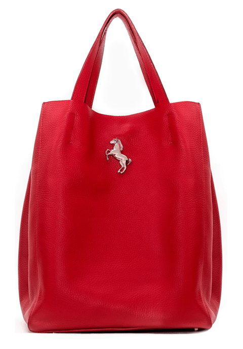 SHOPPING BAG ROJO