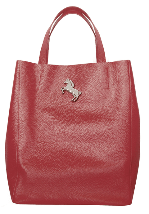 SHOPPING BAG BORDO