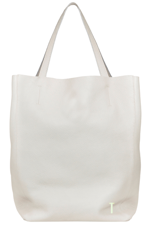 SHOPPING BAG MEDIANA BLANCO