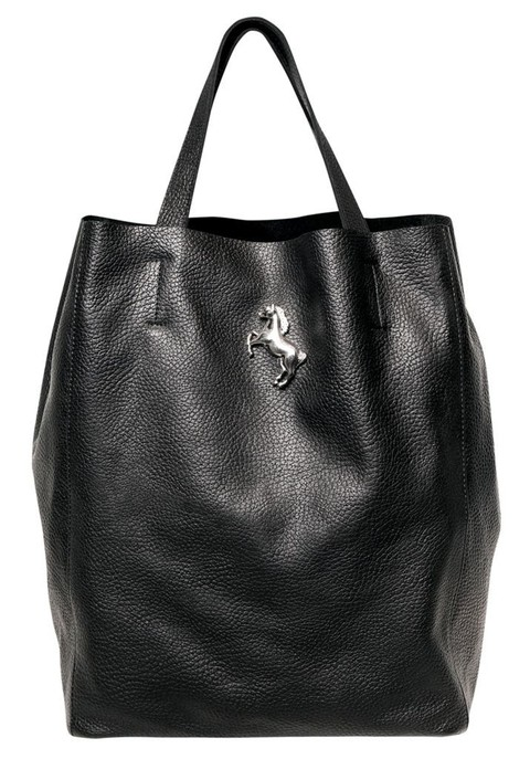 SHOPPING BAG MEDIANA NEGRO