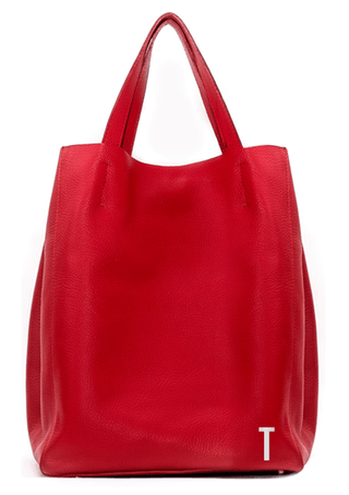 SHOPPING BAG MEDIANA ROJO