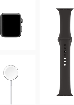 APPLE RELOJ IWATCH SERIE 3 42MM SPACE GREY - cd mix insumos  ®