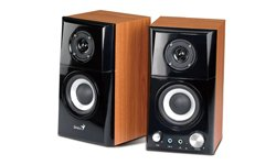 Parlantes Genius SP-HF500A wood 14W 2-w