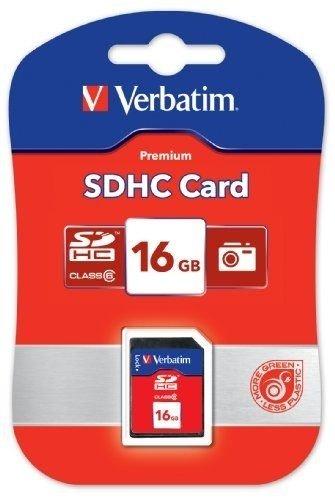 Tarjeta de memoria Premium SDHC de 16 GB, UHS-I clase 10 (96808)