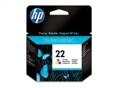 Cart HP color C9352AL original - HP 22