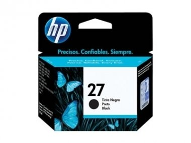 Cart HP negro C8727AL original - HP 27