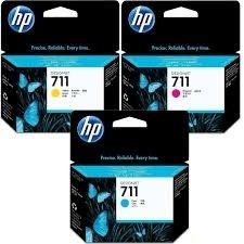 Cartucho Hp 711 Magenta  Plotter T120 T520