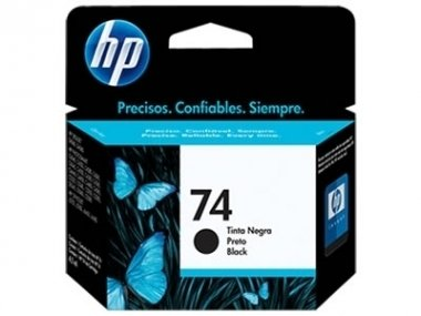 Cart HP negro CB335WL original - HP 74
