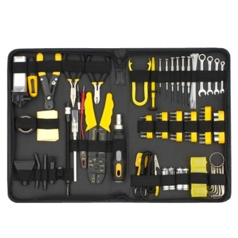Kit de herramientas (NSK8920) para reparar PC de 91 piezas