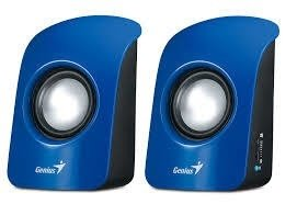 Parlantes Genius SP-U115 USB BLUE
