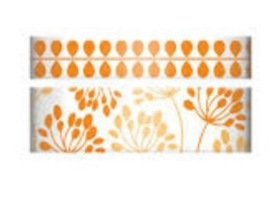 WeR Memory Keepers.  Cinta decorada  Washi Tape NARANJA en internet
