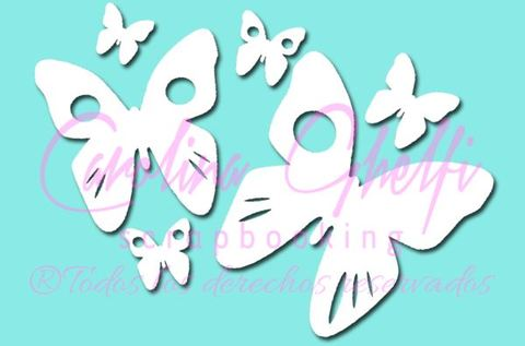 Pack De 6 Mariposas - GEN-FT-205