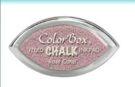 Tinta COLORBOX tipo CHALK, de Clearsnap - Color  ROSE CORAL