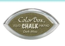 Tinta COLORBOX tipo CHALK, de Clearsnap - Color  DARK MOSS