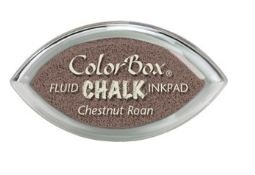 Tinta COLORBOX tipo CHALK, de Clearsnap - Color  CHESTNUT ROAN