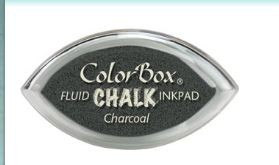 Tinta COLORBOX tipo CHALK, de Clearsnap - Color  CHARCOAL