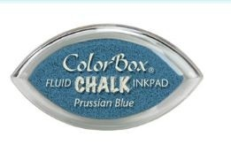 Tinta COLORBOX tipo CHALK, de Clearsnap - Color PRUSSIAN BLUE