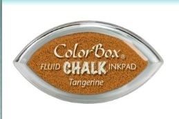 Tinta COLORBOX tipo CHALK, de Clearsnap - Color  TANGERINE