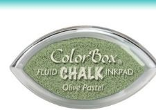 Tinta COLORBOX tipo CHALK, de Clearsnap - Color   OLIVE PASTEL