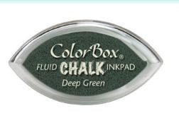 Tinta COLORBOX tipo CHALK, de Clearsnap - Color  DEEP GREEN