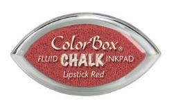 Tinta COLORBOX tipo CHALK, de Clearsnap - Color  LIPSTICK RED