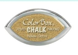 Tinta COLORBOX tipo CHALK, de Clearsnap - Color: YELLOW OCHRE