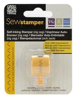 WeR Memory Keepers.  SEW STAMPER - ZIG ZAG