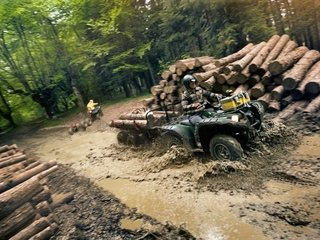 YFM550 4X4 GRIZZLY - Full Time Motos