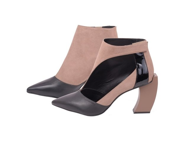 ANKLE BOOT TWO SIDES - Milaashoes