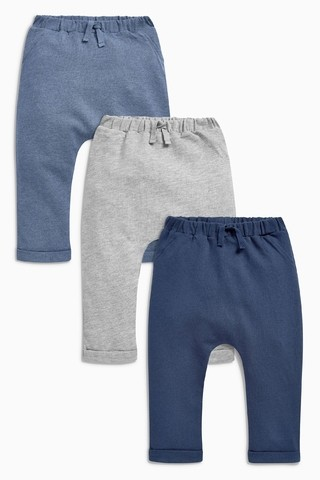 Kit 3 Calças Saruel Jogger Next London - comprar online