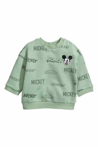 Blusa H&M London Mickey Mouse