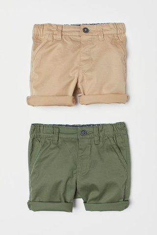 Kit 2 Bermudas H&M London