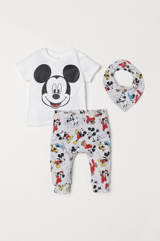 Kit 3 Peças Mickey Mouse for H&M London - comprar online