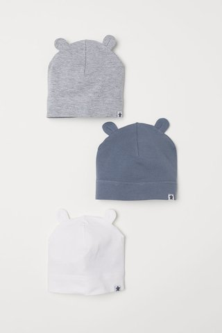 Kit 3 Gorros H&M London