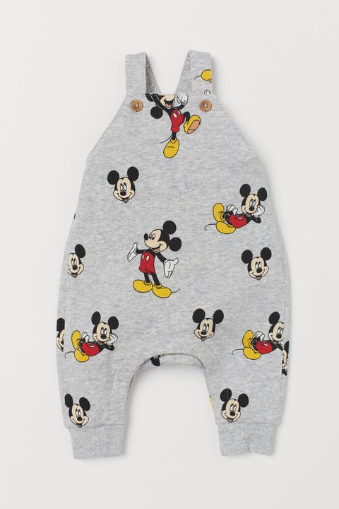 Jardineira Mickey Mouse for H&M London