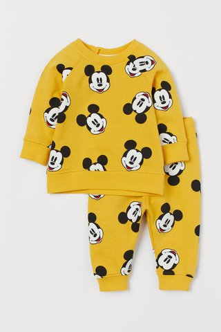Conjunto 2 Peças Mickey Mouse for H&M London