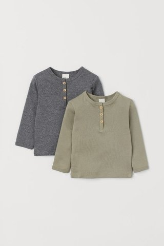 Kit 2 Blusas H&M London (várias cores)