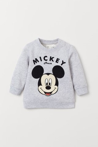 Blusa de Moletom Mickey Mouse for H&M London