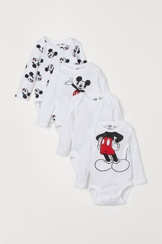 Kit 4 Bodies Mickey Mouse for H&M London